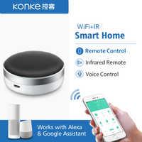 EU Wifi Socket with Remote Control Kinetic Wireless Switch Self Powered  Tuya App Voice Control Google Home Alexa Echo