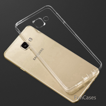 Soft TPU Clear Case For Coque Samsung Galaxy S9 Plus S8 S7 Edge S6 S5 J3 J5 2016 J7 A3 A5 2017 A7 A8 2018 Silicon Back Funda image