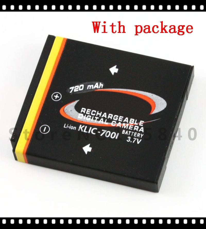 Free Shippig KLIC-7001 KLIC 7001 K7001 Battery for Kodak KLIC-7001 M341 M340 M320 M1073