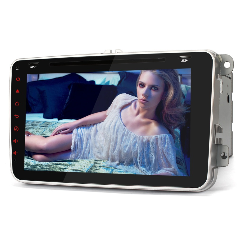 Pumpkin 8 Android 5 1 Touch Screen Car DVD Player For VW Volkswagen POLO PASSAT Golf