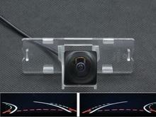 Fisheye Lens Trajectory Tracks 1080P Car Rear view Camera For Suzuki Swift 2012 2013 reverse Waterproof Backup