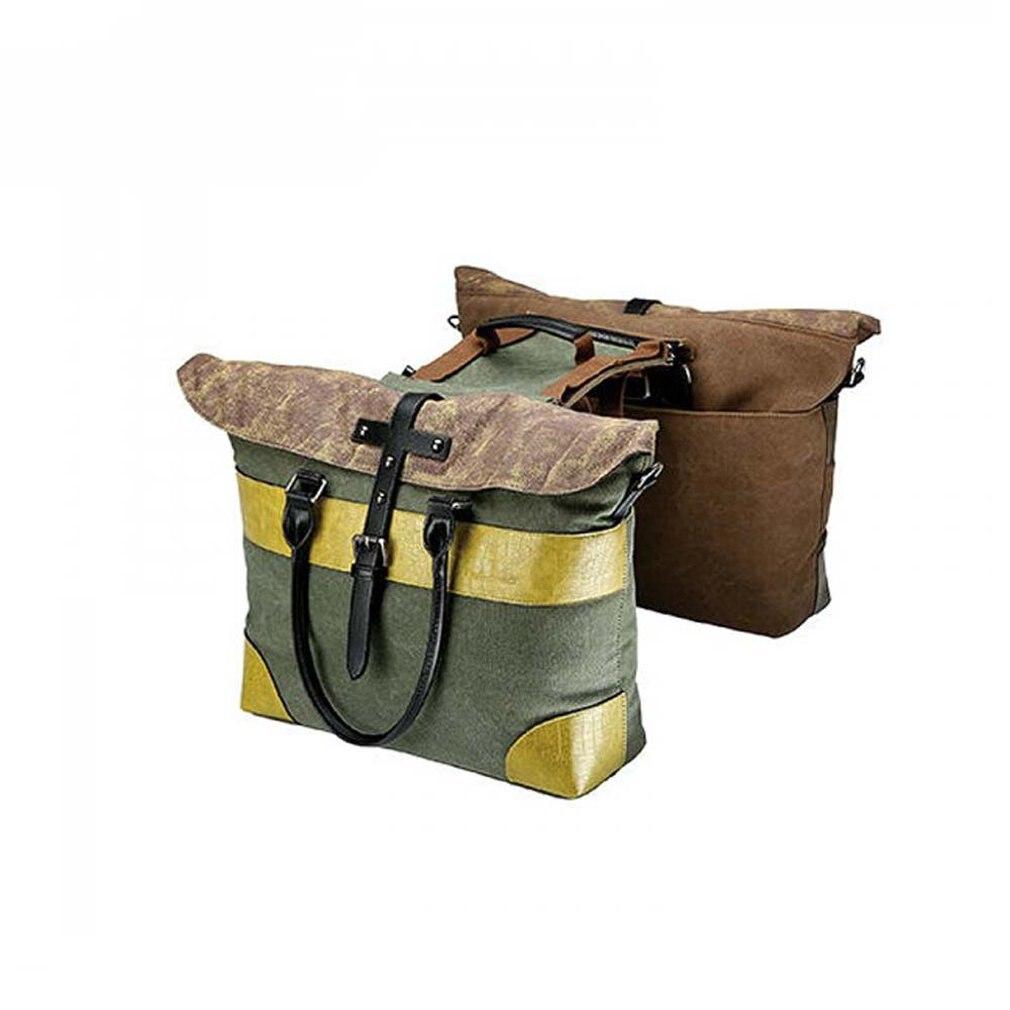 8bc00bc2cf1c Двусторонняя сумка для отдыха сумка-мессенджер Винтажный велосипед рюкзак  велосипедная Стойка Сумка заднего сиденья грузовик