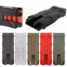 Military Tactical Pouch Ammo Bag 12 Gauge Ammo Shells Hunting Case Gun Accessories Outdoor Sheath Airsoft  Shooting Pouches Box hunting ammo bags molle 25 round 12ga 12 gauge ammo shells shotgun reload magazine pouches j2