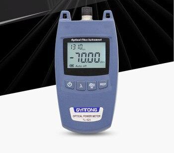FTTH Optical Power Meter OPM Fiber Optical Cable Tester and Laser Source  -70dBm~+10dBm SC/FC Connector Fiber Tester opm607p handheld optical power meter fiber tester online test