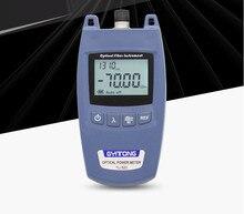 Testeur de câbles à fibers optiques FTTH pour compteur dénergie optique OPM et Source Laser 70dBm ~ + 10dBm SC/FC testeur de fibers pour connecteur