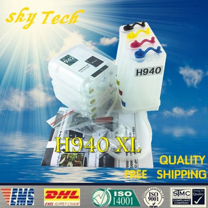 Empty CISS suit for HP940XL , HP-940XL CISS suit for HP officejet pro 8000 8500 8500A series printer , with ARC Chips