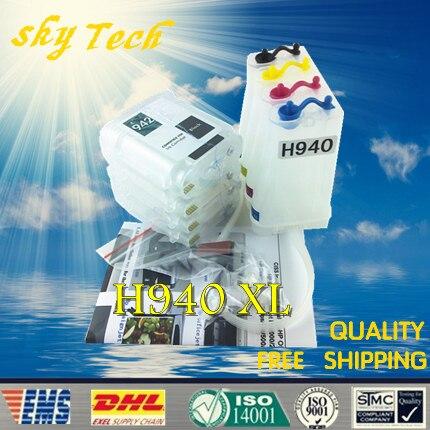Vide CISS costume pour HP940XL, HP-940XL CISS costume pour HP officejet pro 8000 8500 8500A série imprimante, avec ARC Puces