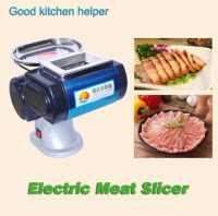 Electric Meat Slicer Pork Beef Mutton Slicing Shredding Dice For Restaurant Butchers Mess Household 3 5mm