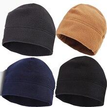 Уличная флисовая спортивная шапка для мужчин и женщин, Зимняя кепка для кемпинга, туризма, катания на лыжах, теплая ветрозащитная Кепка для рыбалки, велоспорта, охоты, военная тактическая Кепка