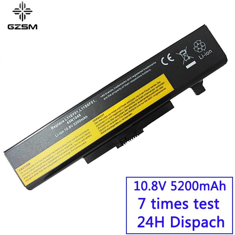 GZSM Laptop Battery Y480 FOR LENOVO L11L6Y01 L11L6F01 L11M6Y01 L11N6R01 L11N6Y01  L11P6R01  L11S6F01  L11S6Y01  45N1048  Battery