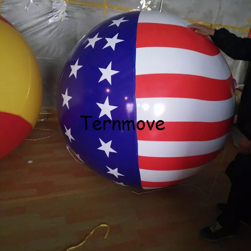 Inflatable pvc USA Balloon with Australia New Zealand Canada National Flag Printing for Events Advertising helium air balloonInflatable pvc USA Balloon with Australia New Zealand Canada National Flag Printing for Events Advertising helium air balloon