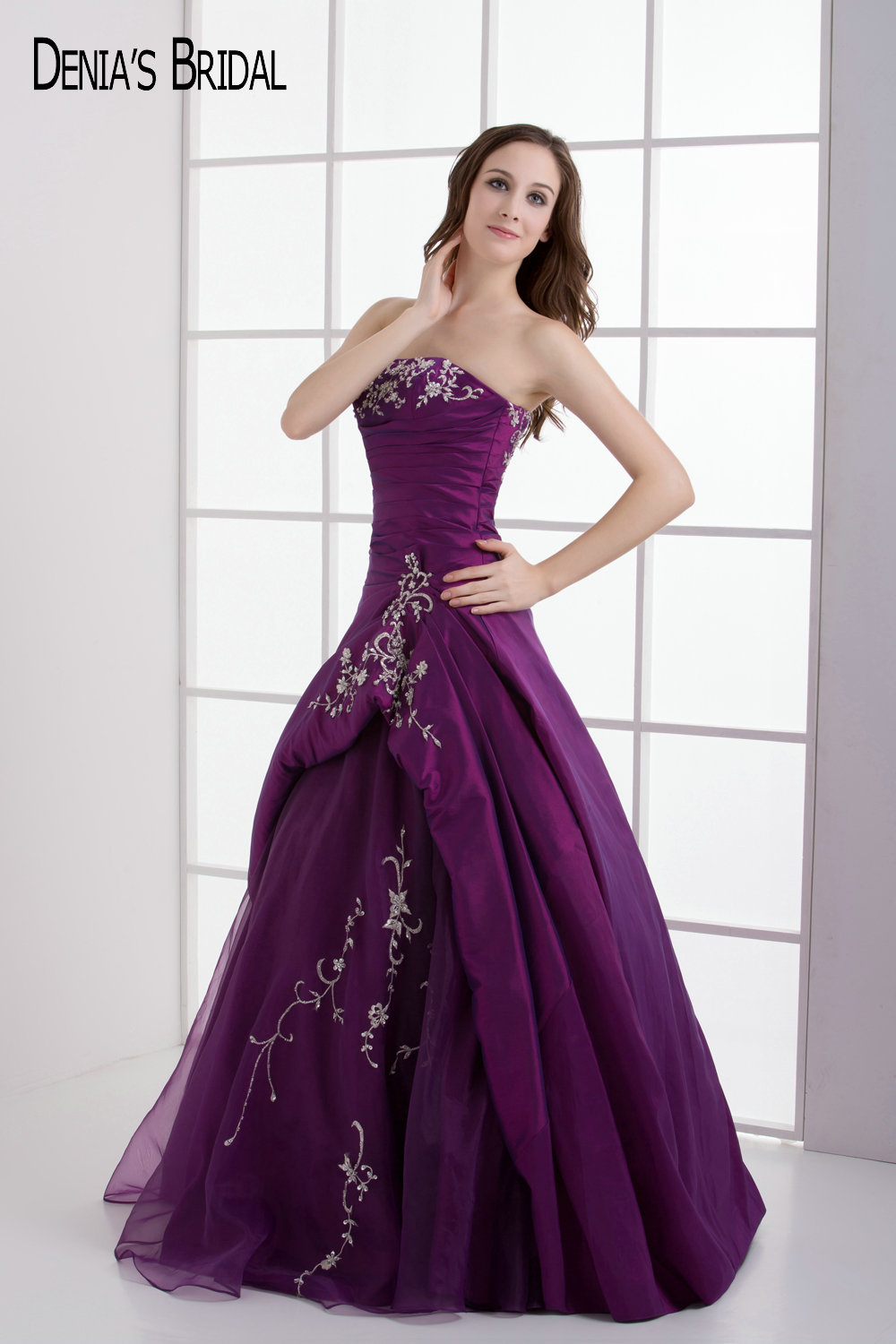 High Quality Wholesale purple evening dresses from China purple ...