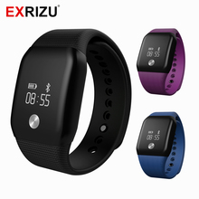 EXRIZU A88+ Smart Watch Blood Pressure Oxygen Meter Waterproof Wristband Heart Rate Monitor Fitness Tracker Sleep Step Calorie