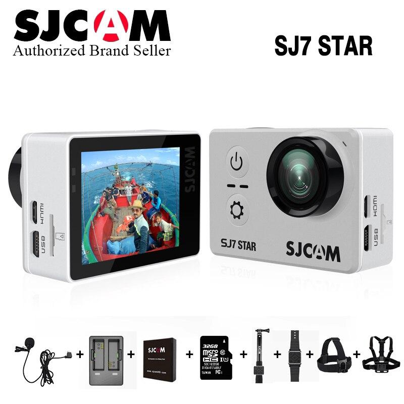 Original SJCAM SJ7 Star WiFi 4K 30FPS 2' Touch Screen Waterproof Ambarella A12S75 Chipset Remote Action Helmet Sports DV Camera