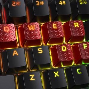 Image 3 - Kingston HyperX keycaps for RGB gaming mechanical keyboard kit clavier gamer 8pcs key cap tactile grip FPS MOBA