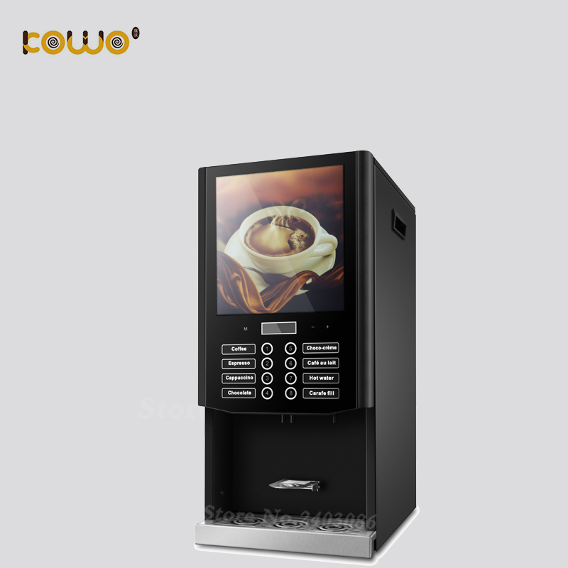 table top coffee vending machine with 7 kinds of mixing hot drinks стоимость