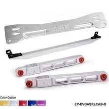Tie-Bar Subframe Mitsubishi Mirage Brace Silver Rear for 1997-2001 TK-EVOASRLCAB-D Lower-Control-Arm