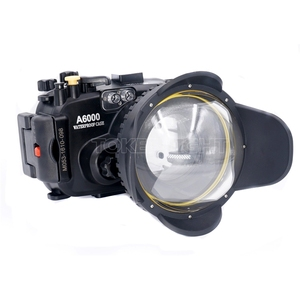 Image 2 - Meikon M67 67mm buceo ojo de pez lente gran angular Puerto Domo cámara de fotografía subacuática lente gran angular Puerto Domo