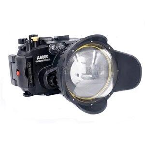 Image 2 - Meikon m67 67mm mergulho olho de peixe lente grande angular dome porta fotografia subaquática câmera lente grande angular porta cúpula
