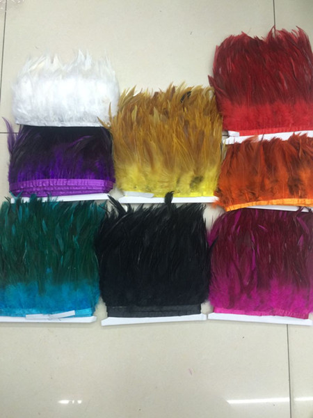 wholesale! 10 yards American Indian hair high quality feather wedding dress bride dress feather party dress skirt