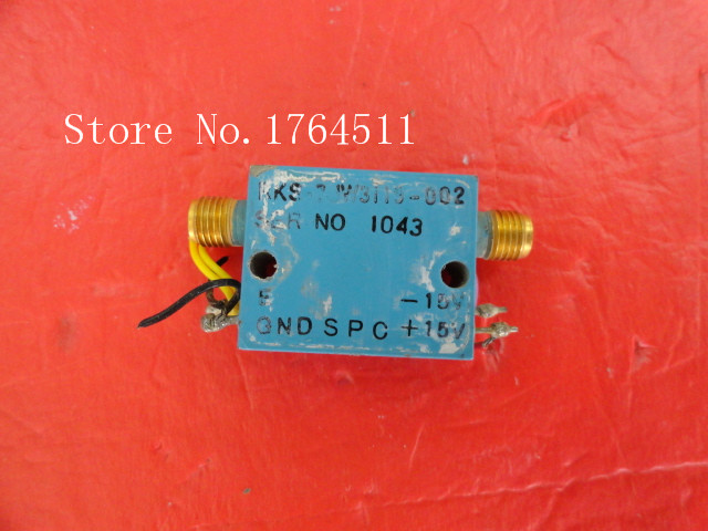 [BELLA] SPC RKS-7JW3113-002 Vin:15V SMA Supply Amplifier