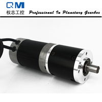 High Reliability Gear Brushless Dc Motor Planetary Gearbox Ratio 50 1 With NEMA 23 120W 24V