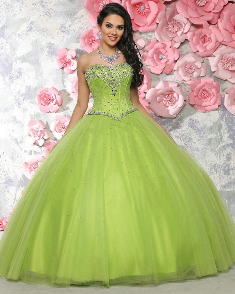 online get cheap lime green ball dress aliexpresscom