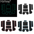 Anti-slip non-slip suporte de copo de borracha adesivo mat ranhura portão pad ranhura da porta para mitsubishi lancer ex 2010-2015 car styling 8 pcs
