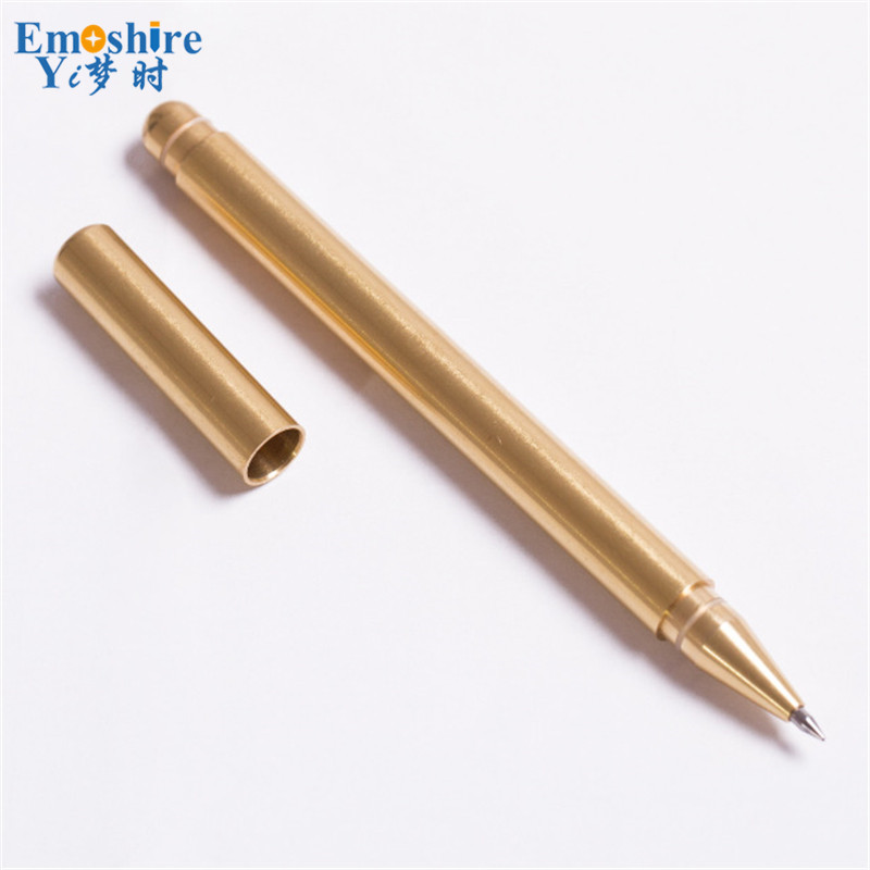 Emoshire Limited Edition Special Gift Pen for Man Business Office Writing Golden Roller Ball Pen Luxury Ballpoint  Pens P343 black jinhao ballpoint pen and pen bag school office stationery brand roller ball pens men women business gift send a refill 013