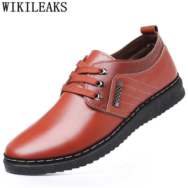 Italian Men Leather Shoes Casual Shoes Men Luxury Brand Driving Shoes Chaussure Homme Erkek Spor Ayakkabi Heren Schoenen Tenis