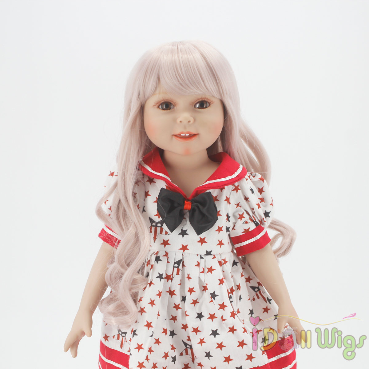 Wigs Only Taro Miilk Wigs for 18 39 39 American Dolls Reborn Dolls with 10 11inch Head Heat Resistant Synthetic Hair Accessory in Dolls Accessories from Toys amp Hobbies
