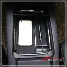 Для Tesla модель X/модель s 2016 2017 2018 интерьер подлокотник хранения Box Дело Организатор 1 комплект стайлинга автомобилей Интимные аксессуары