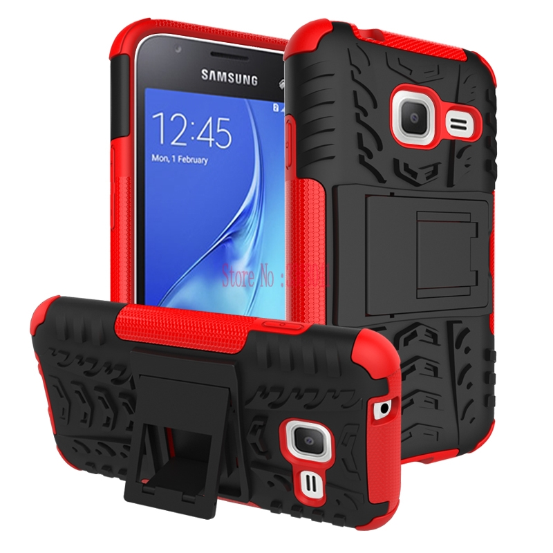 Case for <font><b>Samsung</b></font> <font><b>Galaxy</b></font> <font><b>J1</b></font> J 1 <font><b>mini</b></font> 105 J1mini J105 <font><b>SM</b></font>-J105 <font><b>J105H</b></font>/DS <font><b>SM</b></font>-<font><b>J105H</b></font>/DS <font><b>SM</b></font>-J105M/DS Hybrid Armor Shockproof Phone Cover image
