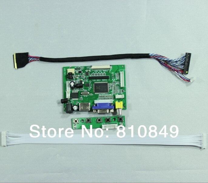 HDMI+VGA+2AV LCD Driver Board for 10.1inch 13.3inch 14inch 15.6inch 16inch  1366x768 LCD Panel vga 2av revering driver board 8inch 800 600 lcd panel ej080na 05b at080tn52
