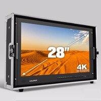 Бесплатная доставка LILLIPUT 28 3840*2160 трансляции монитор 3g SDI 4 К Ultra HD монитор SDI HDMI Талли директор монитор для Камера
