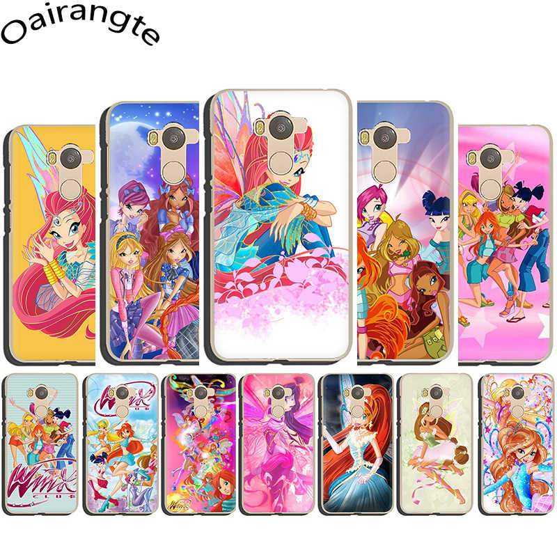 Winx Club Hard Telefoon Cover Case voor Redmi 4X4 5 6 7A GAAN Note5 6 7 8 K20 pro