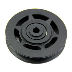 Super sell 95mm black bearing pulley wheel cable gym equipment part wearproof.jpg 250x250