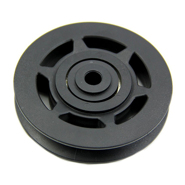 Super sell 95mm Black Bearing Pulley Wheel Cable Gym Equipment Part Wearproof
