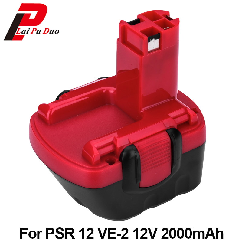 Hot sale!!! Brand new Ni-CD Replacement Power Tool Battery 2.0Ah 12V for Bosch: BAT043,26073 35395,BAT045,26073 35430,BAT049