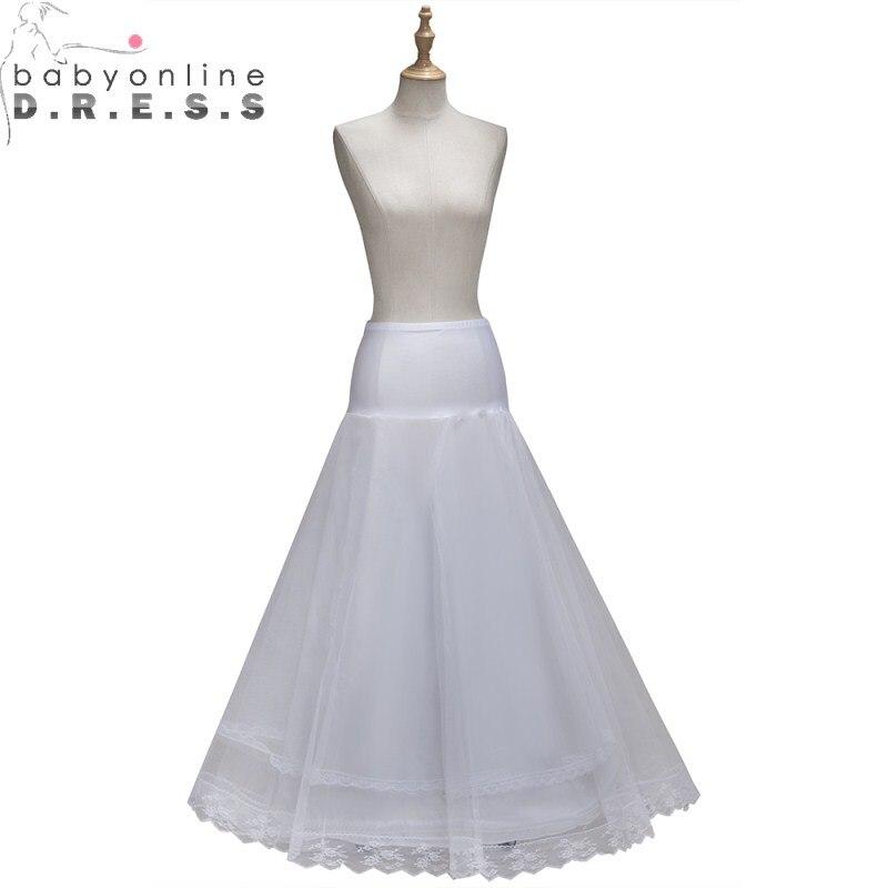 Babyonlinedress Crinoline Underskirt Wedding-Accessories Mermaid-Petticoat Hoop Tulle