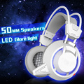 PLEXTONE PC835 PC Gaming Headphones LED+Shock Bass Glowing Big Noise Cancelling HeadHeadset HD Microphone for Computer Subwoofer