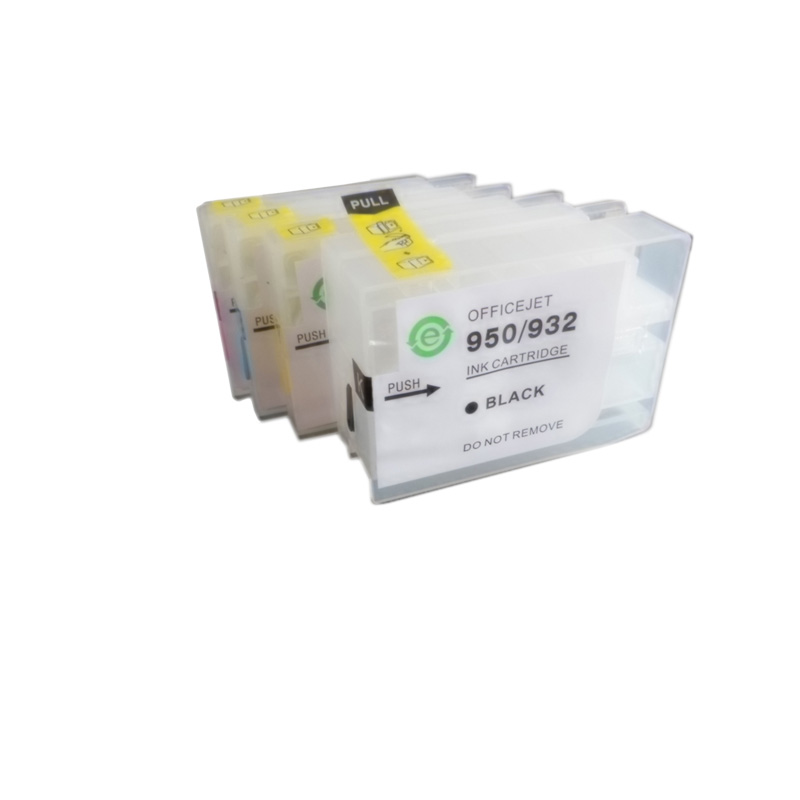 Vilaxh 932 933 For HP 932xl 933xl Empty Refillable Ink Cartridge for Officejet Pro 6100 6600 6700 7110 7610 7612 printer