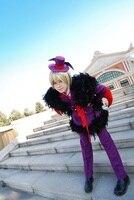 Бесплатная доставка новые сапоги для косплея Темный дворецкий alois Trancy карнавальный костюм демона костюм со шляпой и крыло
