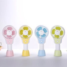 Handheld Usb Fan Cooler Portable Mini Aromaterapi Fan Rechargeable Meja Kecil Desktop Bisu Cooling Fan(China)