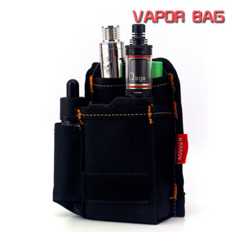 Original Authentischen Advken dampf tragbare tasche für RBA RDA tank spule & vape pen & box mod & geschmack carring beutel schnelles verschiffen