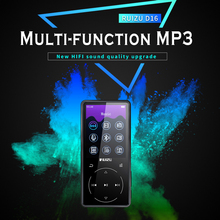 RUIZU NEW mp3 D16 Mp3 Player Usb 8Gb 16G Storage 2.4 inches HD Color Screen Play