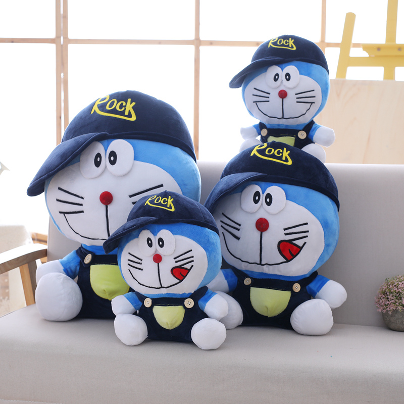 Miaoowa 1pc 30cm Classic Doraemon Plush Toys Cute Cat doll Soft Stuffed Animals Baby Toy For Kids Gifts Doraemon Figure Toys
