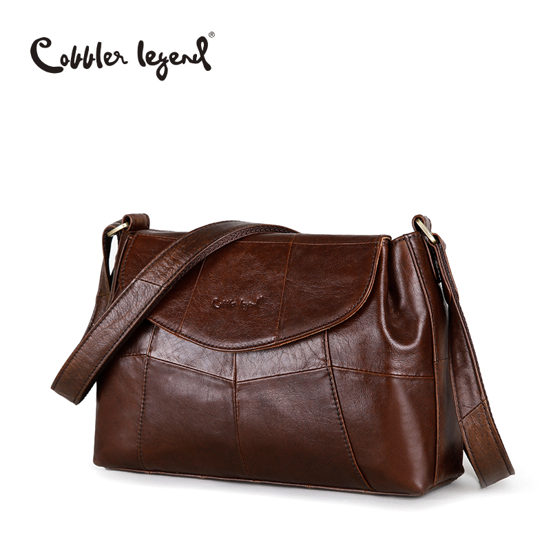 Cobbler Legend Elegant Women Messenger Bags For Women 2017 Crossbody Bags For Women Shoulder Genuine Leather Bags Baobao Brand cobbler legend 2015 messenger 100