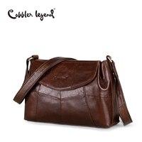 Cobbler Legend Elegant Women Messenger Bags For Women 2017 Crossbody Bags For Women Shoulder Genuine Leather