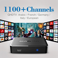 MAG 250 IPTV Box Linux OTT Set Top Box MAG250 Stability With QHDTV 1100+Live TV Channels Arabic French Sky Italy Europe IPTV Box
